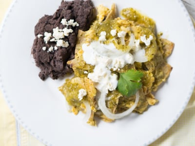 Image for Mexican Salsa Verde Chilaquiles