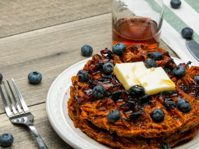 Image for Blueberry Sweet Potato Waffle