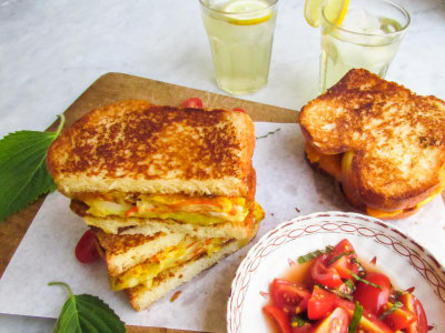 Image for Korean Omelet Sandwich