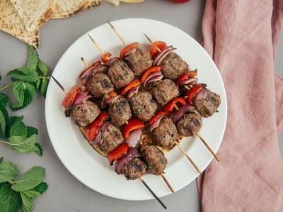 Image for Grilled Mediterranean Meatballs