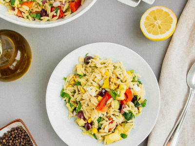 Image for Summer Vegetable and Pasta Salad