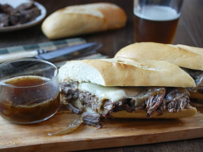 Image for Pressure Cooker French Dip Sandwiches