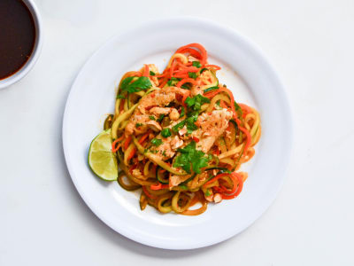 Image for Spiralized Zucchini Pad Thai with Chicken