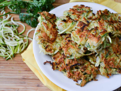 Image for Spiralized Zucchini Fritters
