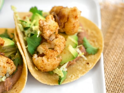 Image for Seared Cauliflower Tacos