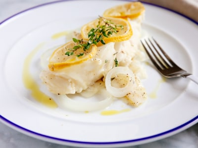 Image for Pressure Cooker Steamed Lemon-Herb Fish