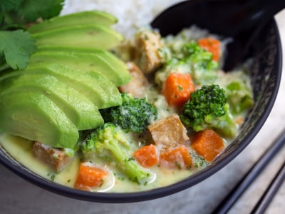 Image for Tofu and Vegetable Green Curry
