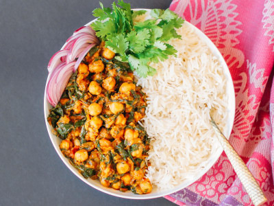 Image for Pressure Cooker Chana Saag