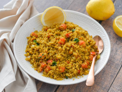 Image for Pressure Cooker Vegetable Quinoa Pulau