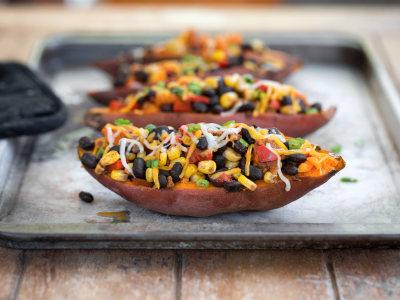Image for Taco-Stuffed Sweet Potatoes