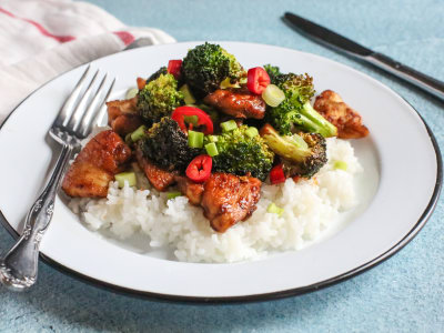 Image for Spicy Chicken and Broccoli Stir-Fry