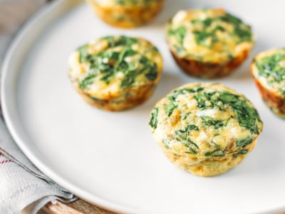 Image for Spinach and Quinoa Egg Muffins