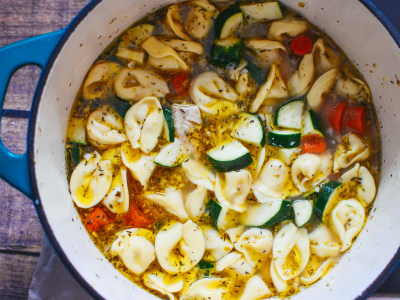 Image for Chicken Tortellini Soup