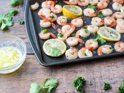 Image for Sheet Pan Lemon-Butter Shrimp