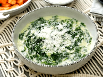 Image for Skinny Creamed Spinach