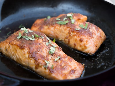 Image for 10-Minute Teriyaki Salmon