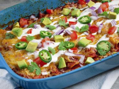 Image for Chicken Enchiladas