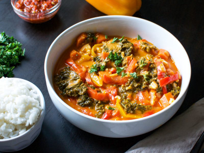 Image for Pressure Cooker Thai Vegetable Curry