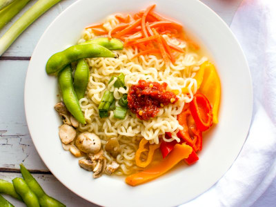 Image for Pressure Cooker Ramen Noodle Soup