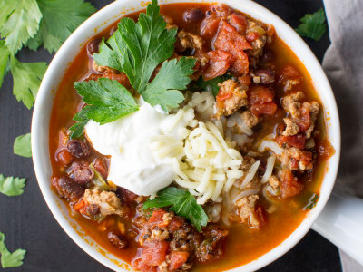 Image for Pressure Cooker Spicy Turkey Chili