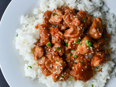 Image for Pressure Cooker Sesame Chicken