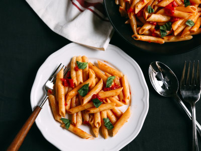 Image for Pressure Cooker Penne in Tomato Sauce