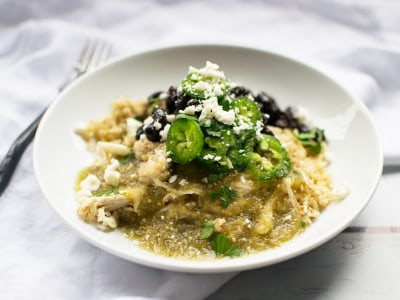 Image for Pressure Cooker Salsa Verde Chicken Bowls