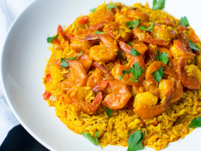 Image for Pressure Cooker Shrimp Paella