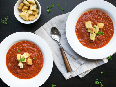 Image for Pressure Cooker Spicy Roasted Tomato Soup