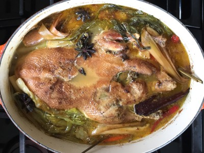 Image for Vietnamese Braised Duck in Spicy Orange Sauce (Vit Nau Cam)