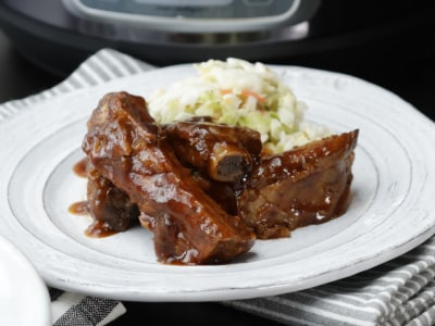 Image for Pressure Cooker Barbeque Baby Back Ribs