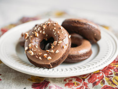 Image for Gluten-Free Chocolate Cake Donuts