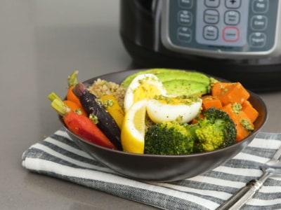 Image for Pressure Cooker Pesto Veggie Grain Bowls