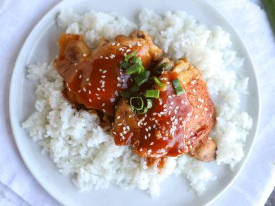 Image for Pressure Cooker Honey-Garlic Chicken
