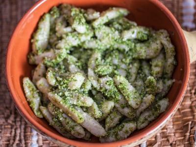 Image for Potato Gnocchi with Arugula Pesto