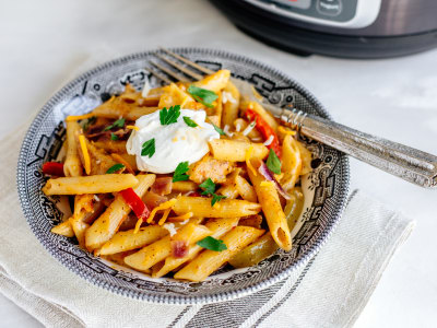 Image for Pressure Cooker Chicken Fajita Penne