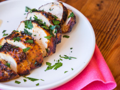 Image for Air Fryer Honey Mustard Chicken Breasts