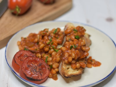 Image for Pressure Cooker Baked Beans on Toast