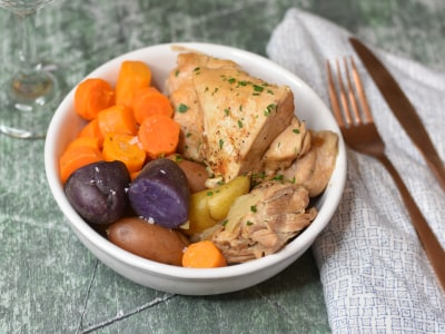 Image for Pressure Cooker Chicken Dinner With Potatoes and Carrots