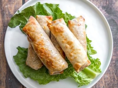 Image for Air Fryer Egg Rolls