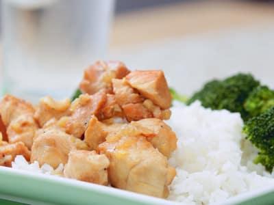 Image for Meal Prep: Pressure Cooker Honey-Ginger Chicken