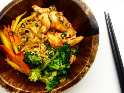 Image for Chile Chicken and Noodles