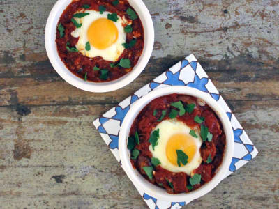 Image for Spanish-Style Baked Eggs
