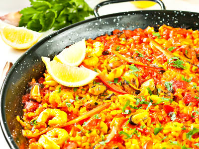 Image for Spanish Seafood Paella