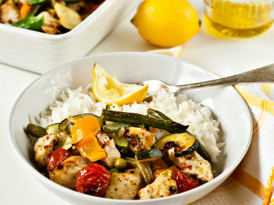 Image for Quick and Easy Chicken and Vegetable Bake