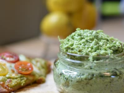 Image for Garlic Scape Pesto with Avocado Oil