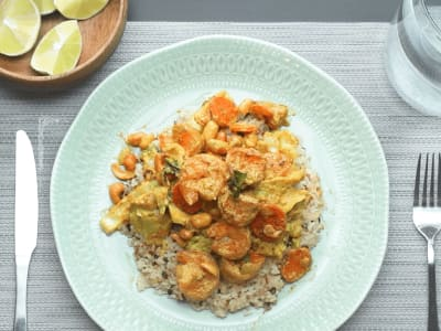 Image for Easy Shrimp Coconut Curry