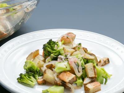 Image for Oven-Roasted Potato and Broccoli Salad