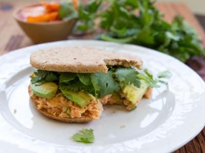 Image for Kimchi Tuna Salad Sandwich