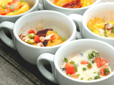 Image for Quick and Easy Scrambled Egg Cups